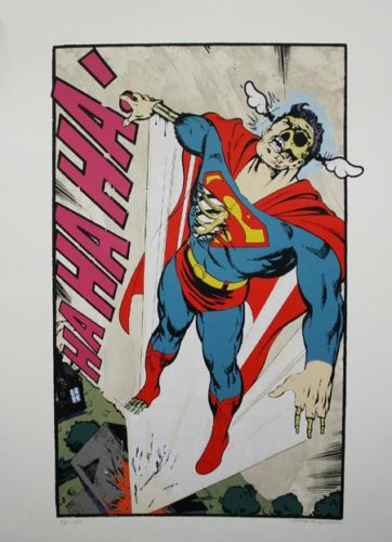 Ha, Ha, Ha Not So Superman by Dface