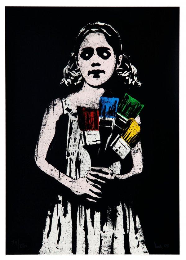 Paint Brush Girl by DOLK