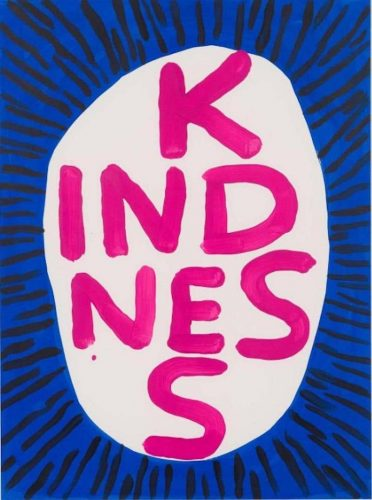 Kindness by David Shrigley at David Shrigley