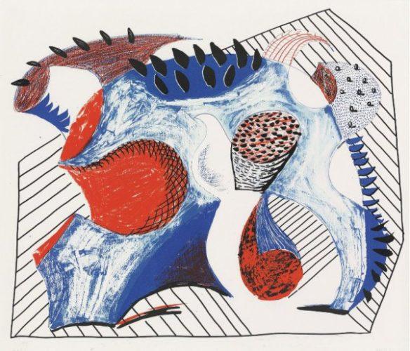 Untitled (for Joel Wachs) by David Hockney