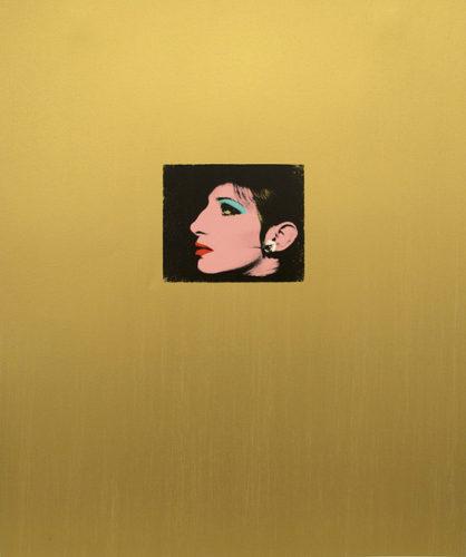 Gold Barbara by Deborah Kass