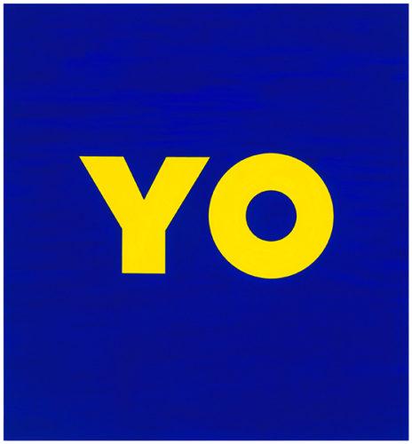 Yo by Deborah Kass