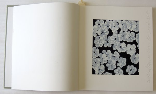 (artist Book) Wall Flowers by Donald Sultan at
