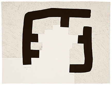 Homenaje A Heidegger by Eduardo Chillida at