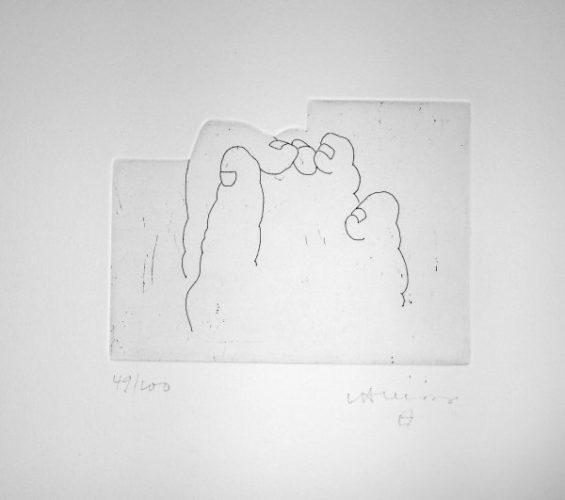 Literature Or Life by Eduardo Chillida