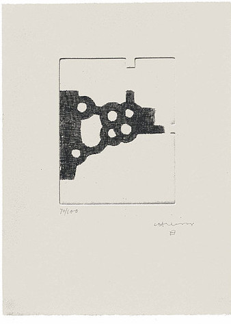 Literature Or Life Iii by Eduardo Chillida at