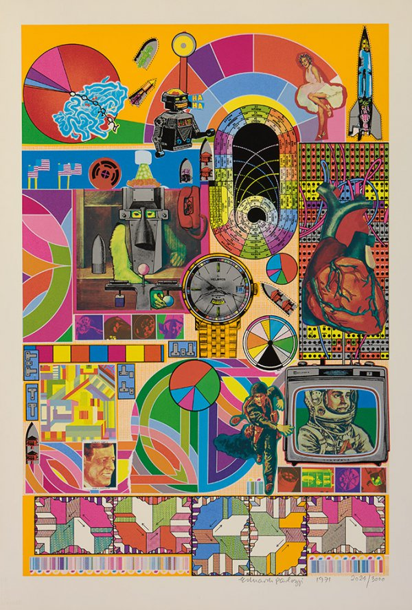 Bash (yellow) by Eduardo Paolozzi