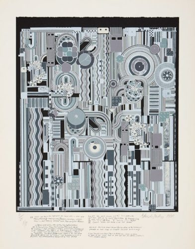 From Early Italian Poets by Eduardo Paolozzi at ModernPrints.co.uk