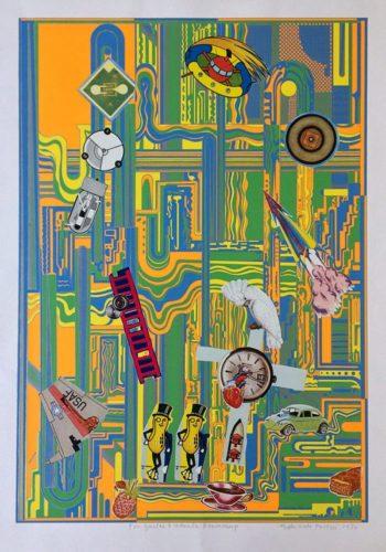 Mr Peanut by Eduardo Paolozzi at ModernPrints.co.uk