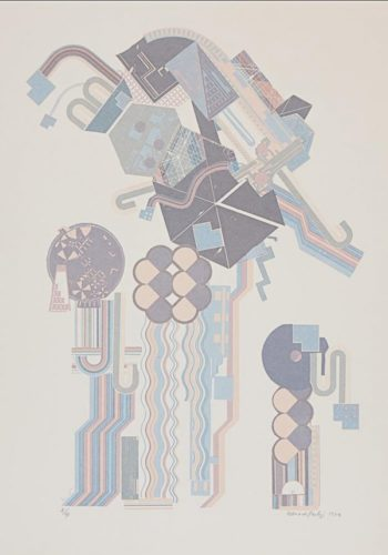 W16 by Eduardo Paolozzi at ModernPrints.co.uk