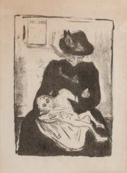 Arv (inheritance) by Edvard Munch at John Szoke Gallery (IFPDA)