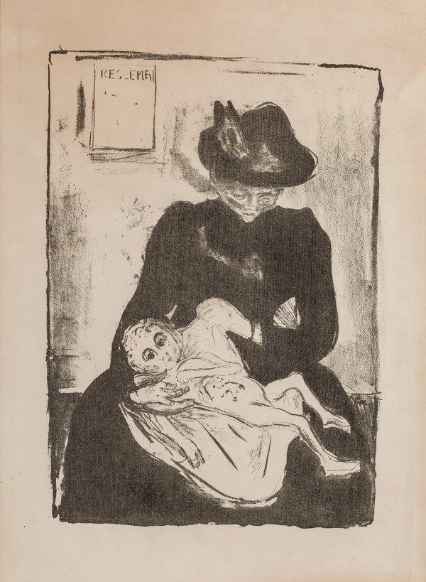 Arv (inheritance) by Edvard Munch