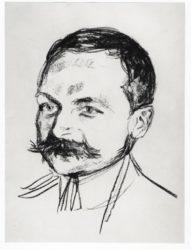 Bildnis Dr. Wilhelm Wartmann by Edvard Munch at