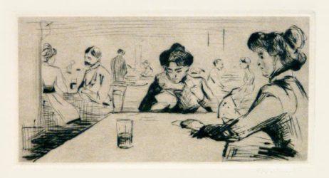 Hopfenblüte by Edvard Munch at John Szoke Gallery (IFPDA)