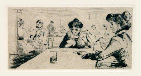 Hopfenblüte by Edvard Munch