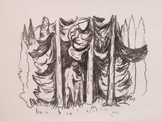Skogen (the Forest) by Edvard Munch at John Szoke Gallery (IFPDA)