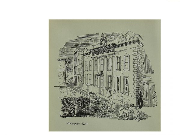 Armourers Hall by Edward Bawden at