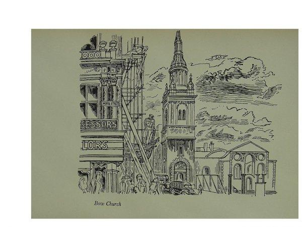 Bow Church by Edward Bawden at