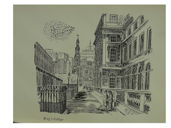 King's College by Edward Bawden at