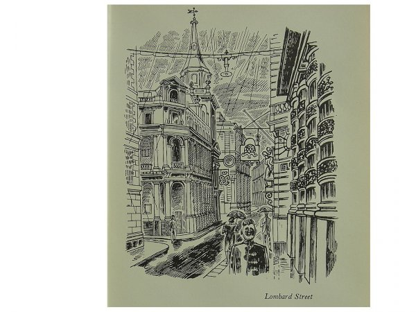 Lombard Street by Edward Bawden at
