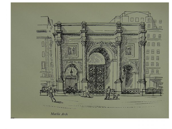Marble Arch by Edward Bawden at