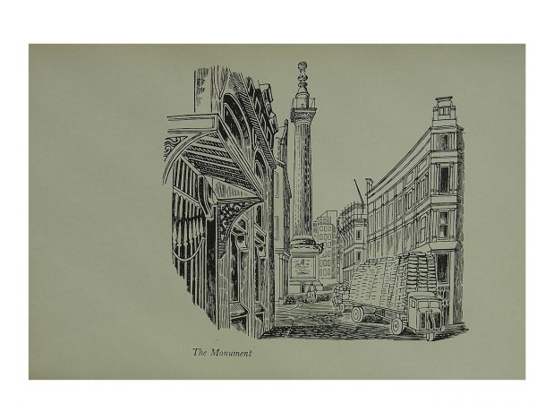 Monument by Edward Bawden at