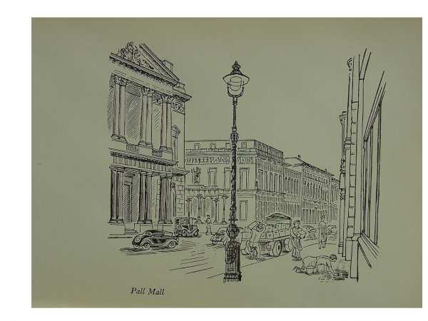 Pall Mall by Edward Bawden at