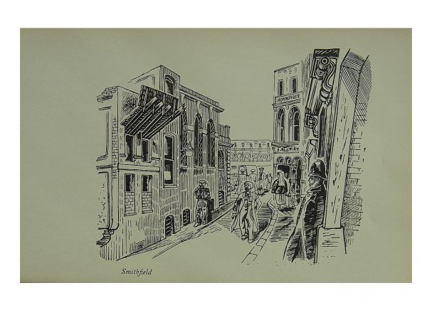 Smithfield by Edward Bawden at