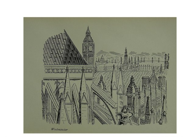Westminster  2 by Edward Bawden at