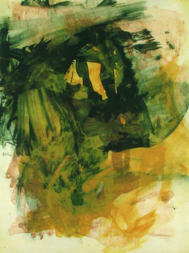 Gathering Moss 14 by Elizabeth Gilfilen