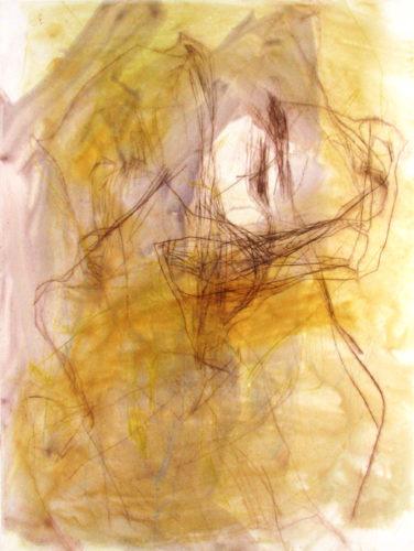 Restless Topography 15 by Elizabeth Gilfilen at