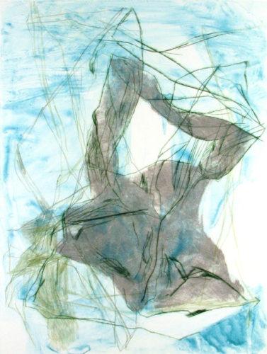 Restless Topography 20 by Elizabeth Gilfilen at