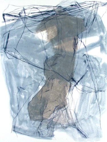 Restless Topography 21 by Elizabeth Gilfilen at