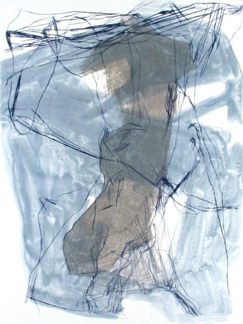 Restless Topography 21 by Elizabeth Gilfilen