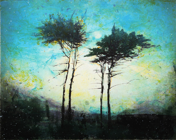 Blue Hold by Elizabeth Magill