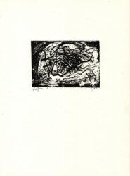 Ein Zeichen Für Salzburg by Emilio Vedova at Emanuel von Baeyer - Cabinet (IFPDA)