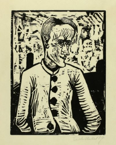 Der Narr (the Fool) by Erich Heckel