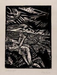 Verwundeter (der Barmherzige Samariter) by Erich Heckel at Galerie Henze & Ketterer & Triebold