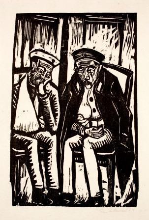 Zwei Verwundete by Erich Heckel at Galerie Henze & Ketterer & Triebold