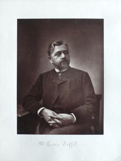 Gustave Eiffel (1832-1923) by Eugène Pirou