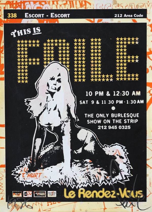 This Is Faile In Yellow by Faile