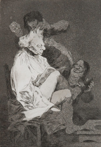 29. Esto Si Que Es Leer by Francisco Goya