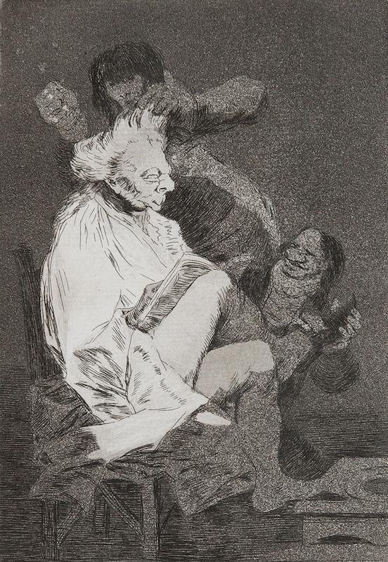 29. Esto Si Que Es Leer by Francisco Goya