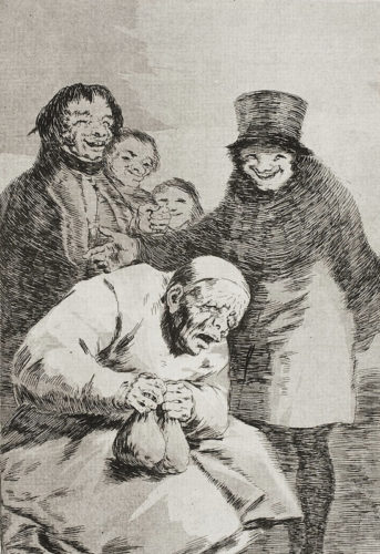 30. Porque Esconderlos by Francisco Goya