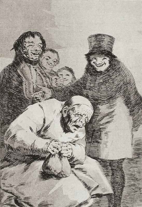 30. Porque Esconderlos by Francisco Goya