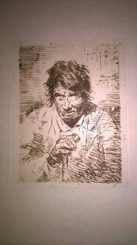 Le Mendiant (the Beggar) by Francisco Goya