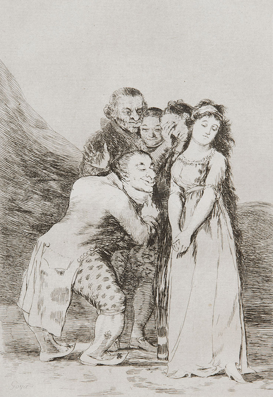 14. Que Sacrificio! by Francisco Goya