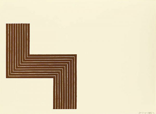 Ophir, From Copper Series by Frank Stella at