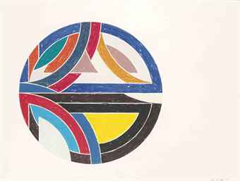 Sinjerli Variation Iii by Frank Stella at