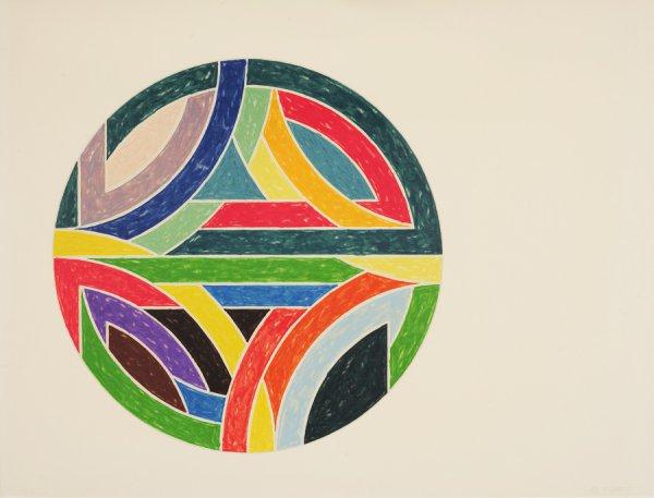 Sinjerli Variation Iv by Frank Stella at